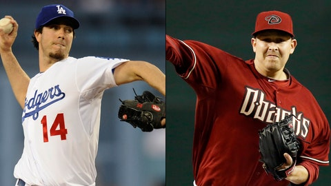 Diamondbacks (4-10) vs. Dodgers (8-4)