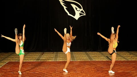 Cardinals cheerleader tryouts
