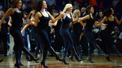 Suns dance team