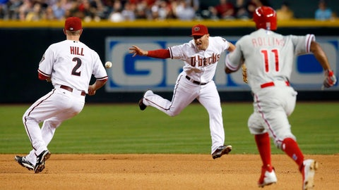 Phillies at D-backs, Game 1