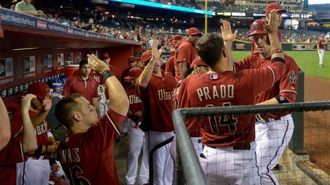 Diamondbacks vs. Nationals, May 14