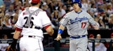 D-backs routed by Dodgers in series opener