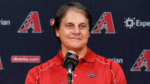 Tony LaRussa - Chief Baseball Officer, Arizona Diamondbacks