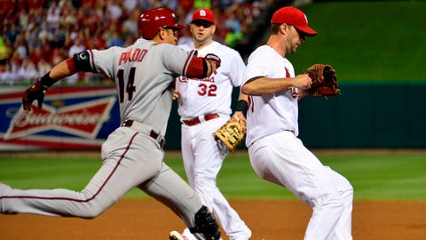 D-backs at Cardinals
