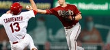 D-backs rookie SS Owings to DL with shoulder injury