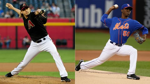Diamondbacks (19-31) at Mets (21-26)