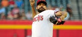 Collmenter faces the minimum in shutout of Reds