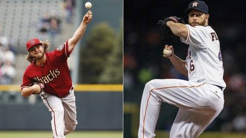 Diamondbacks (29-39) at Astros (30-37)