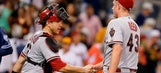 Montero powers D-backs out of last place