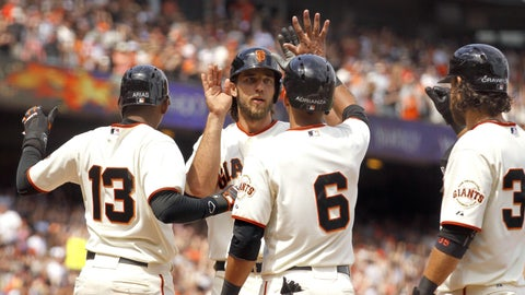 Diamondbacks at Giants: Sunday, July 13