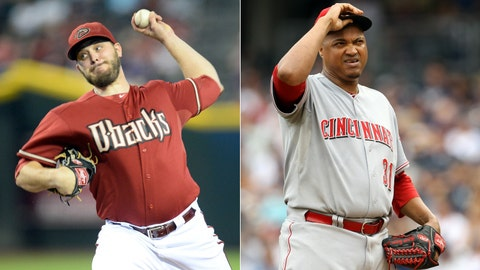 Diamondbacks (46-61) at Reds (53-53)