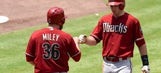 Miley, Goldschmidt stave off sweep