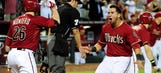 Goldschmidt's 2-run double in 10th gives D-backs 4-3 win