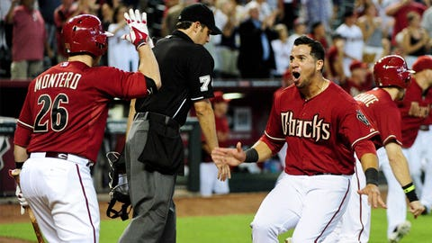 Out of nowhere: David Peralta