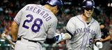 Rockies outlast D-backs in 10 innings
