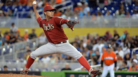 D-backs at Marlins: Sunday, Aug. 17