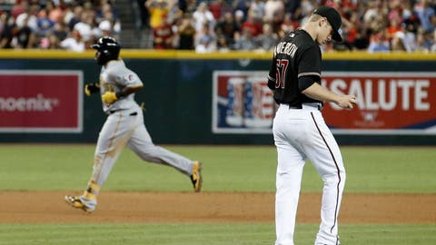 Pirates at D-backs: Saturday, August 2