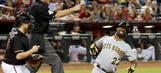 D-backs fall as hit batter fuels emotions