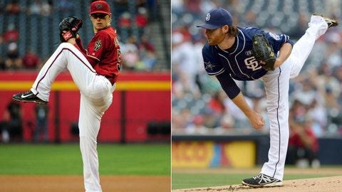 D-backs (55-75) vs. Padres (59-69)