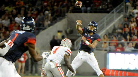 UNLV at Arizona, Aug. 29