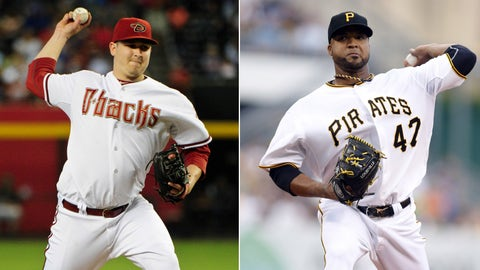 Diamondbacks (47-61) vs. Pirates (57-50)