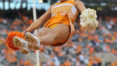 College football cheerleaders: We've got spirit, yes we do