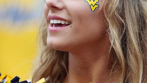 West Virginia cheerleader