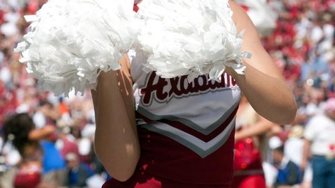 Alabama cheerleader