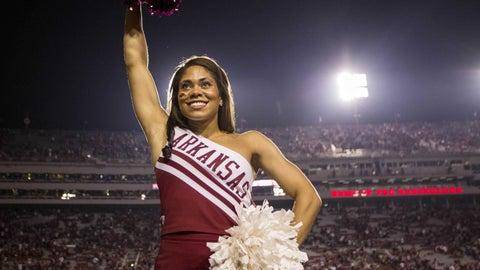 Arkansas cheerleader