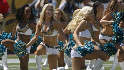 Jaguars cheerleaders