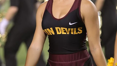 ASU cheerleader