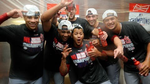 NL Central champions: St. Louis Cardinals