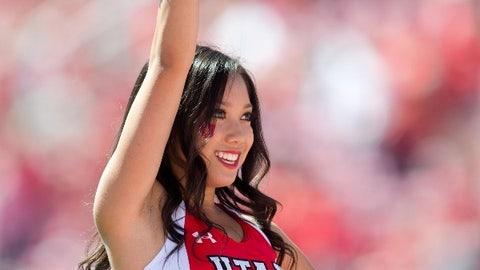Utah cheerleader