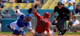 Gonzalez powers Dodgers past D-backs