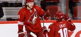 Coyotes power up to beat Blue Jackets