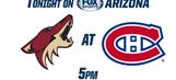 Coyotes look to break 2-game skid against rugged Canadiens