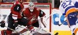 Domingue saves 25, Coyotes shutout struggling Islanders