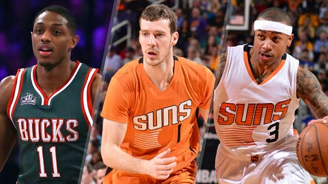 Suns continue to shake up roster