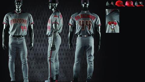 Diamondbacks road gray uniforms