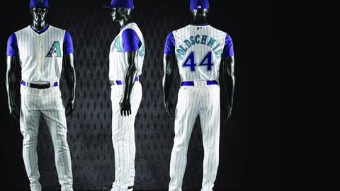 Diamondbacks throwback uniforms