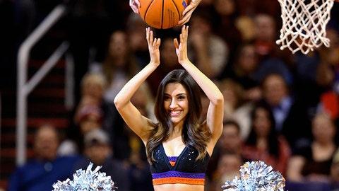 NBA dancers: December