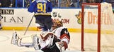 Coyotes end winless trip with 4-1 loss to Blues