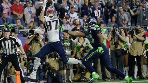 Brady to Gronk