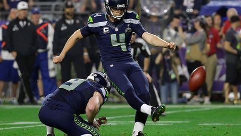 Seahawks take the lead