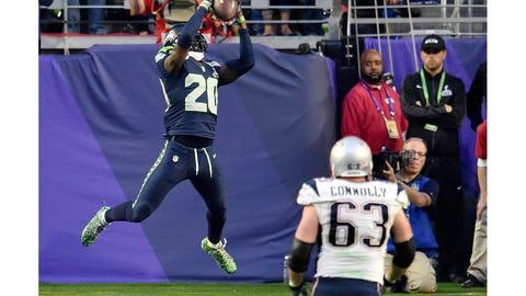 Lane picks off Brady
