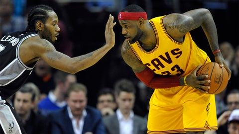San Antonio Spurs vs. Cleveland Cavaliers: +611 (611/100)