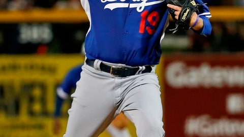 Ferrell with the Dodgers