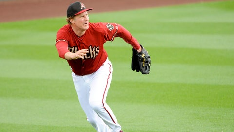 Ferrell with the Diamondbacks