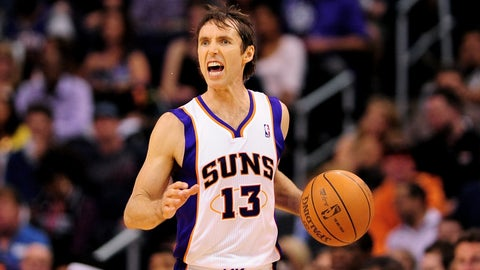 Steve Nash through the years