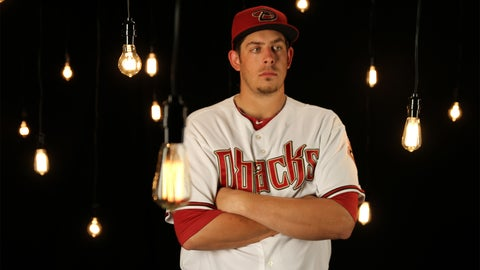 Pitcher Aaron Blair